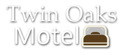 Logo, Twin Oaks Motel - Jersey Shore Motel